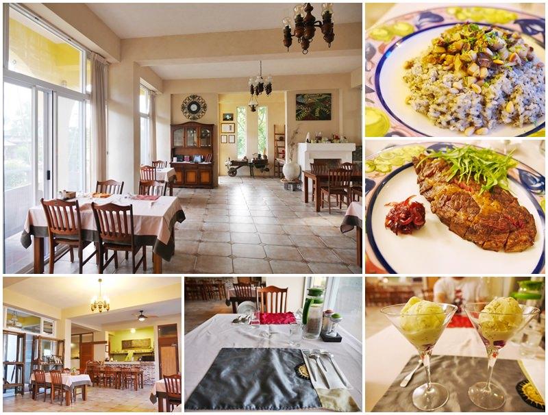 台東成功美食 馬可樓民宿餐廳 義式料理/牛排~神遊地中海,歡愉享美食