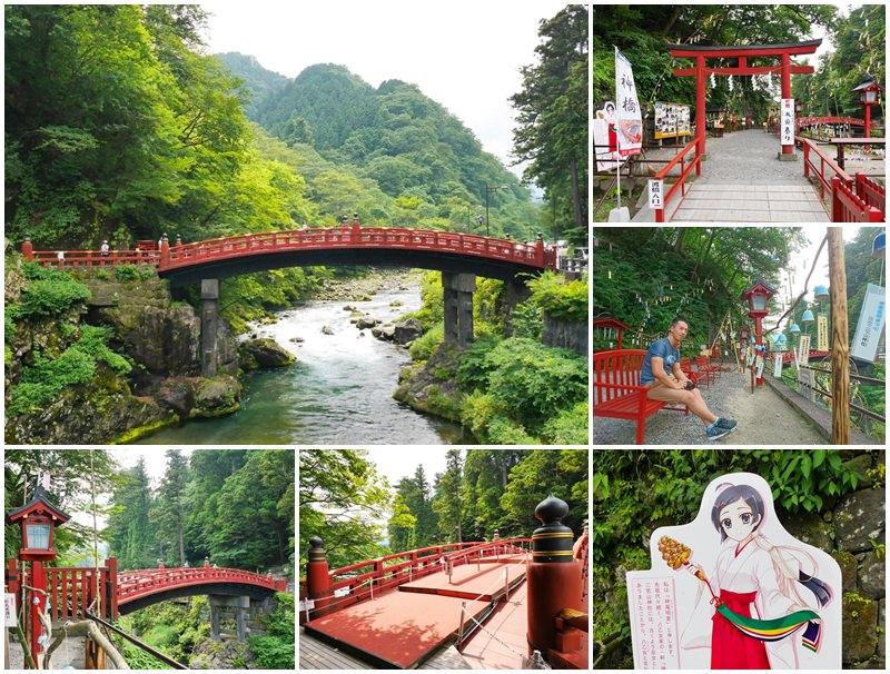 栃木日光景點 神橋 巧遇風鈴祭~日本三大奇橋,世界遺產之旅