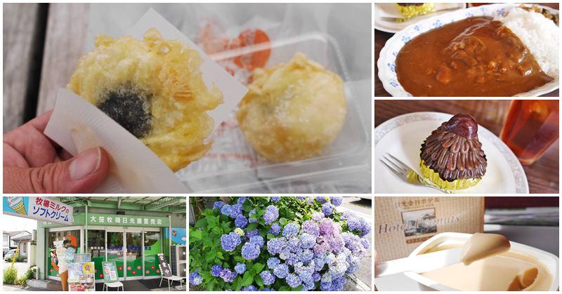 日光車站美食 炸湯葉饅頭+金谷咖哩飯+草莓冰沙~日光人氣小吃美食吃透透