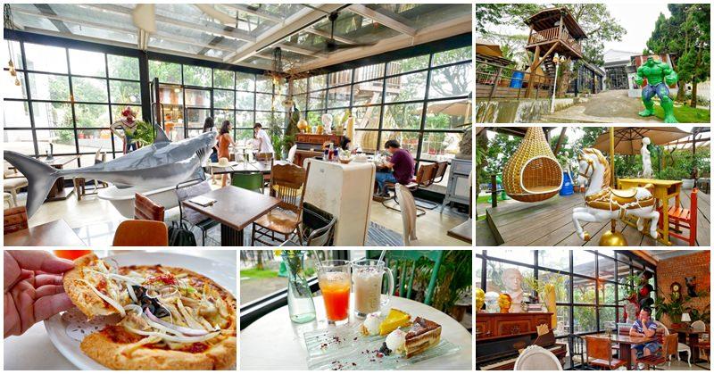 淡水玻璃屋咖啡廳 Binma Area 134 下午茶~森林系網美餐廳,拍婚紗好地方