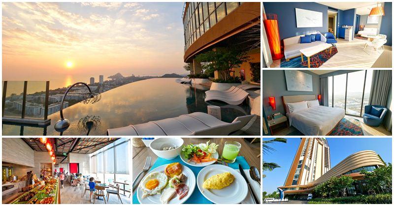 華欣親子飯店 Holiday Inn Resort Vana Nava Hua Hin~夢幻無邊際泳池,水上樂園無限暢遊,超放空
