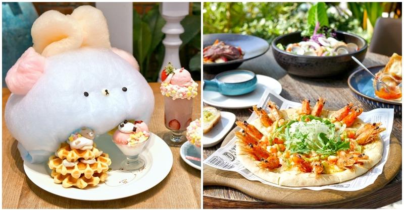 台南雛菊餐桌 夢幻森林系餐廳 下午茶+主餐一次享~超療癒熊熊棉花糖鬆餅