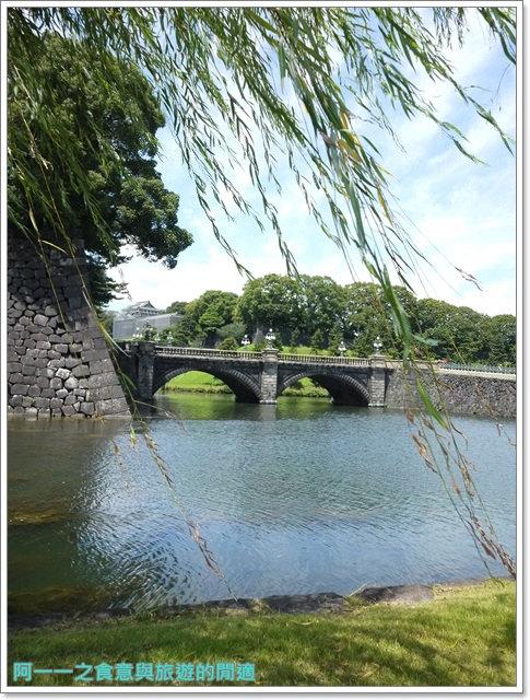 日本東京旅遊自助皇居外苑二重橋櫻田門和田倉噴水公園image023