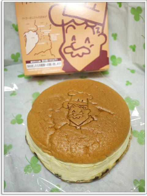 大阪美食 Rikuro 老爺爺起司蛋糕~濕潤輕柔的起司香