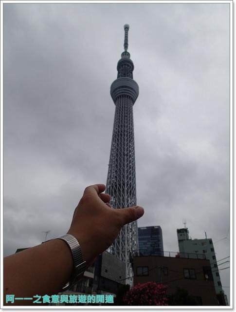 晴空塔天空樹日本東京自助旅遊淺草吾妻橋image018