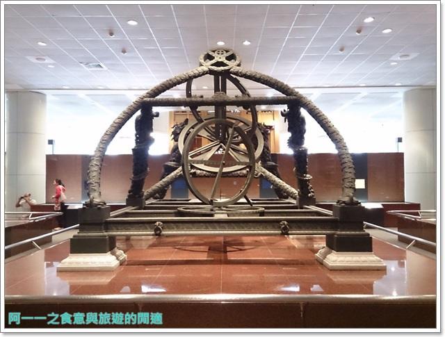 台中親子旅遊景點木乃伊國立自然科學博物館恐龍渾天儀水鐘image041