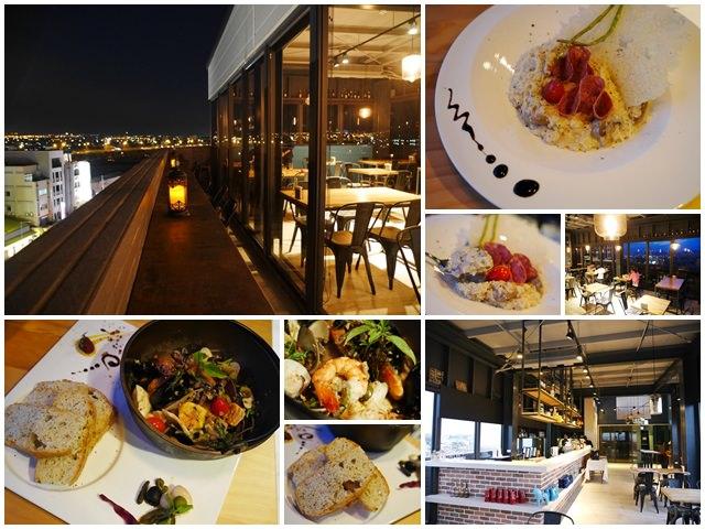 台中逢甲夜市美食默沏餐廳意式料理夜景聚餐約會默砌旅店page
