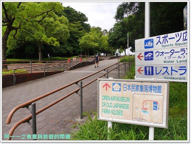 大阪親子景點.日本民家集落博物館.服步綠地.古蹟.老屋image011