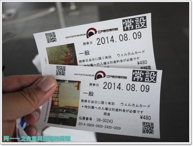 日本東京自助景點江戶東京博物館兩國image008