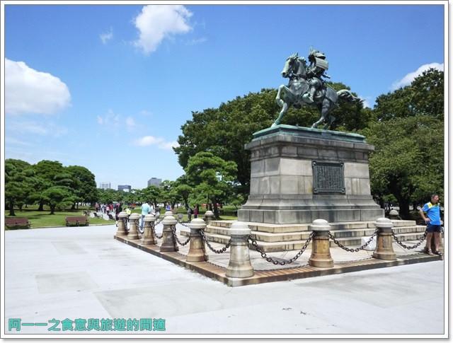 日本東京旅遊自助皇居外苑二重橋櫻田門和田倉噴水公園image045