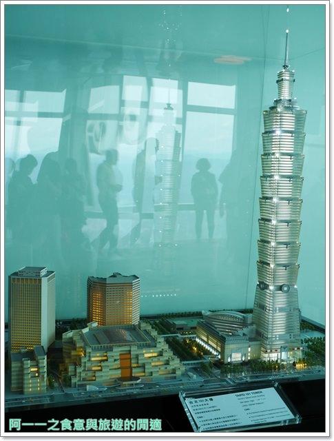 捷運台北101景點89樓觀景台阻尼器摩天大樓image030