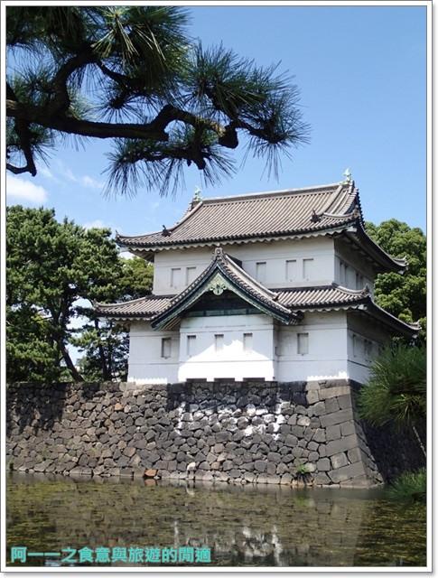 日本東京旅遊自助皇居外苑二重橋櫻田門和田倉噴水公園image038