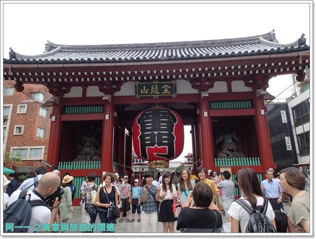 日本東京自助旅遊淺草雷門仲見世街image032
