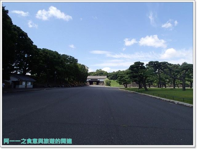 日本東京旅遊自助皇居外苑二重橋櫻田門和田倉噴水公園image018