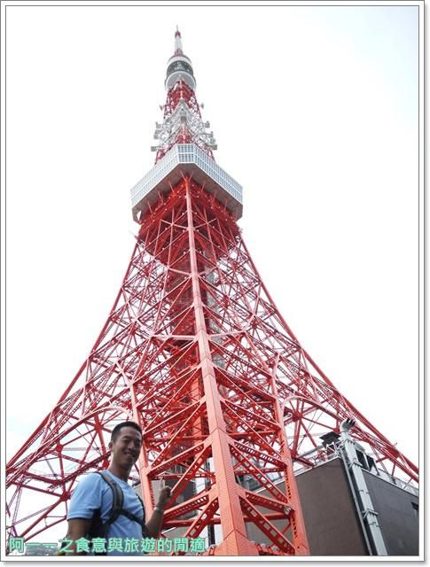 日本東京旅遊東京鐵塔芝公園夕陽tokyo towerimage004