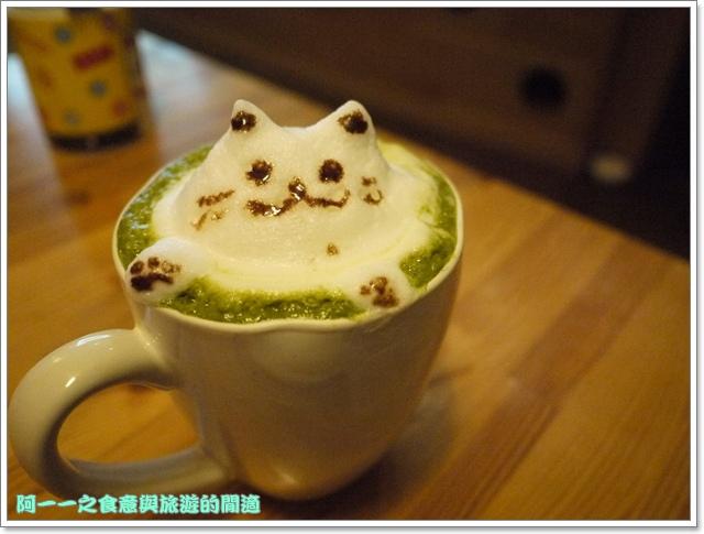 台中貓餐廳立體貓拉花貓旅行咖啡輕食館image063