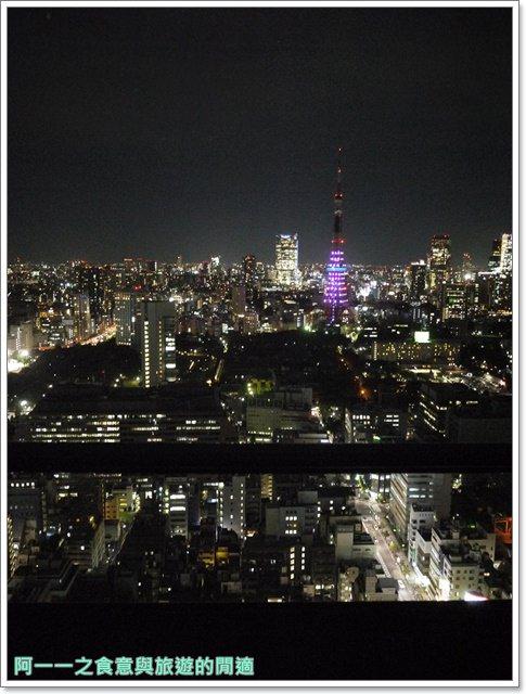 東京景點夜景世界貿易大樓40樓瞭望台seasidetop東京鐵塔image027