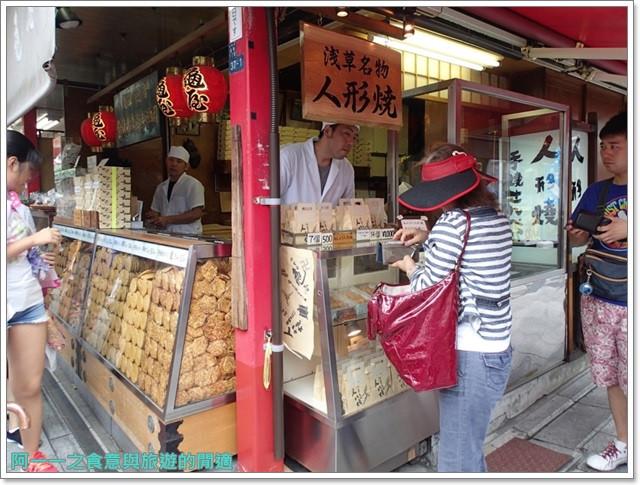 日本東京自助旅遊淺草雷門仲見世街image041