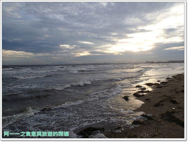 日本千葉景點東京自助旅遊幕張海濱公園富士山image025