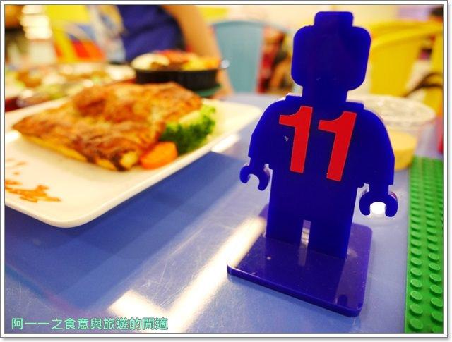 樂高積木主題餐廳中和環球lego親子甜點披薩image017