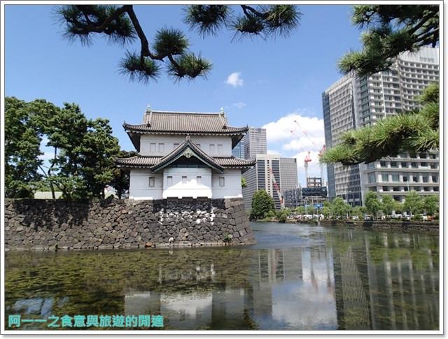 日本東京旅遊自助皇居外苑二重橋櫻田門和田倉噴水公園image064