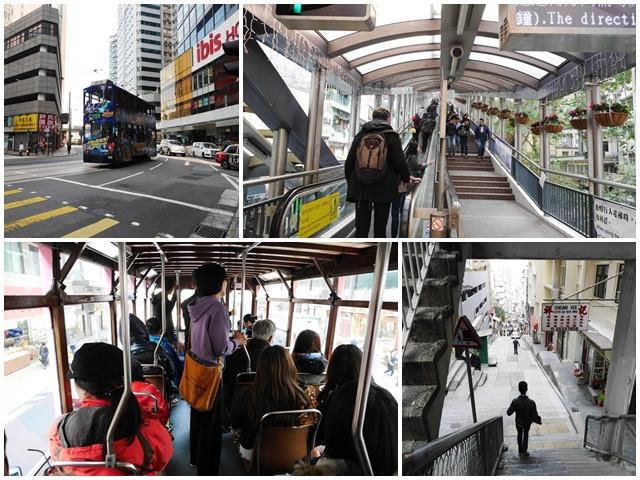 香港景點 中環半山手扶梯/中環街市 全世界最長的戶外電梯~阿一一香港自助之旅