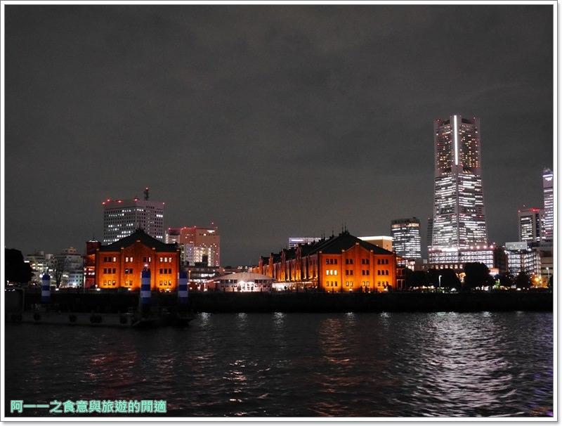 橫濱港夜景.veltra.東京旅遊.觀光船.日劇.浪漫image047