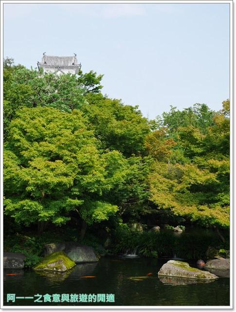 姬路城好古園活水軒鰻魚飯日式庭園紅葉image042
