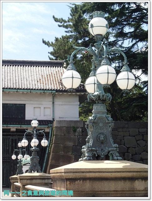 日本東京旅遊自助皇居外苑二重橋櫻田門和田倉噴水公園image028