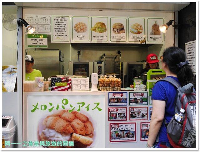 大阪心齋橋美食.世界第二好吃的現烤冰淇淋菠蘿麵包.龍蝦三明治image024