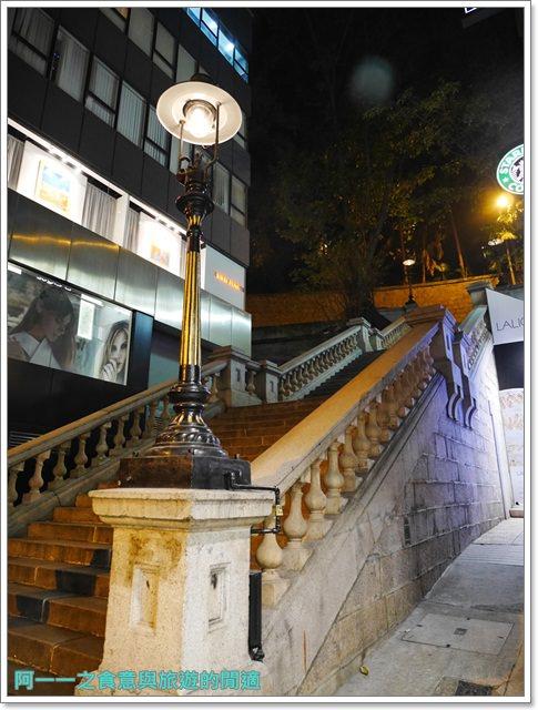 香港自助旅遊.星巴克冰室角落.都爹利街煤氣路燈.古蹟image008