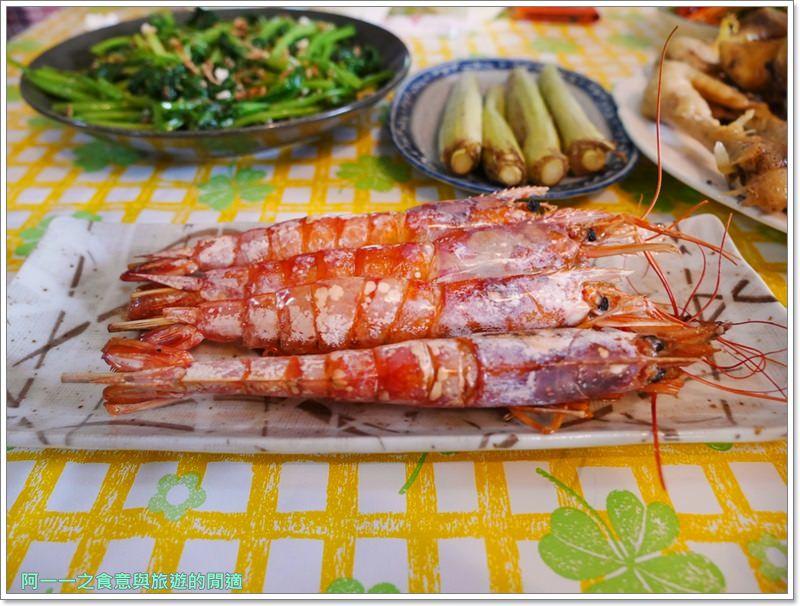 花蓮無菜單料理.美食.兩津農莊食堂.烤魚.桶仔雞.image034