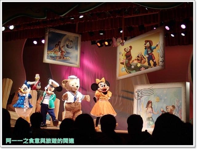 東京迪士尼海洋美食duffy達菲熊午餐秀gelatoniimage051