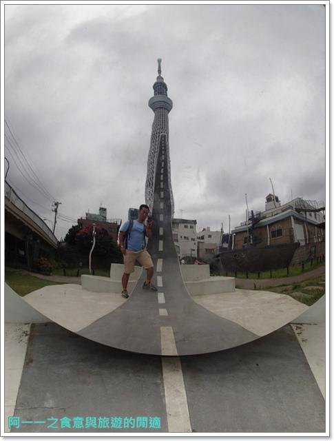 晴空塔天空樹日本東京自助旅遊淺草吾妻橋image020