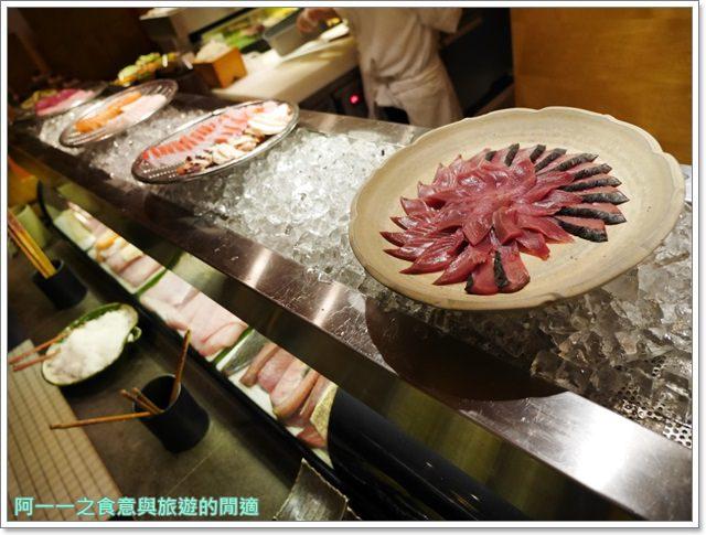 捷運台北101站美食君悅酒店彩日本料理buffet吃到飽image013
