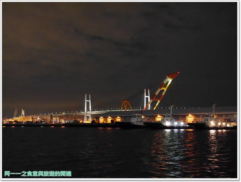 橫濱港夜景.veltra.東京旅遊.觀光船.日劇.浪漫image035