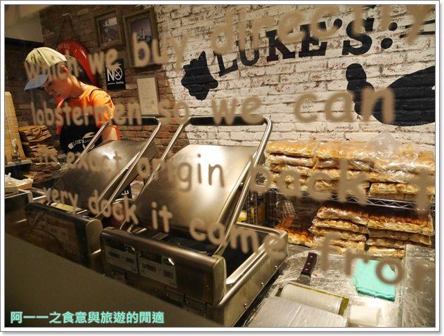 大阪心齋橋美食.世界第二好吃的現烤冰淇淋菠蘿麵包.龍蝦三明治image011