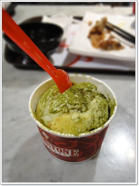 Cold Stone 碧螺春茶冰淇淋~趕快變成經典口味吧!