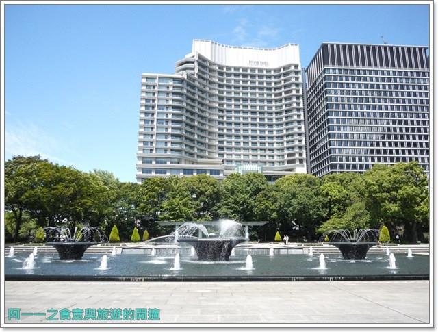 日本東京旅遊自助皇居外苑二重橋櫻田門和田倉噴水公園image052