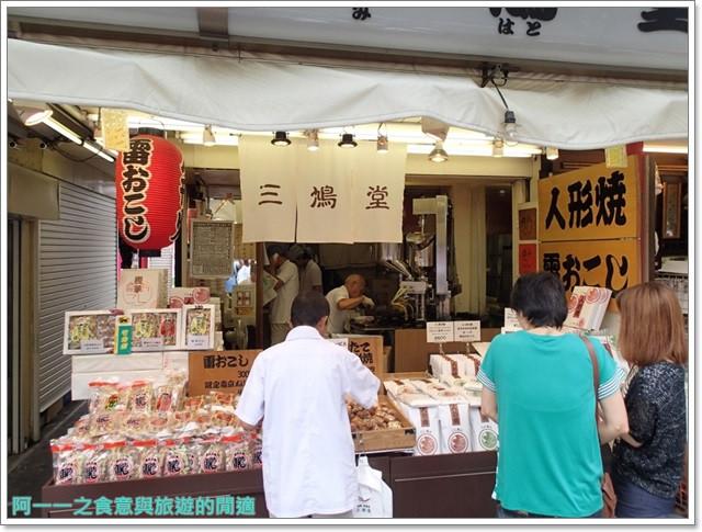 日本東京自助旅遊淺草雷門仲見世街image038