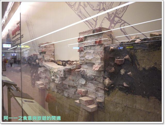 捷運松山線北門站台北博物館古蹟清代遺跡image015