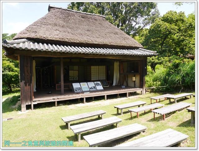 大阪親子景點.日本民家集落博物館.服步綠地.古蹟.老屋image052