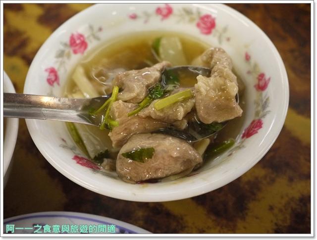 西門町美食李記宜蘭肉焿特殊口味豬血湯image049