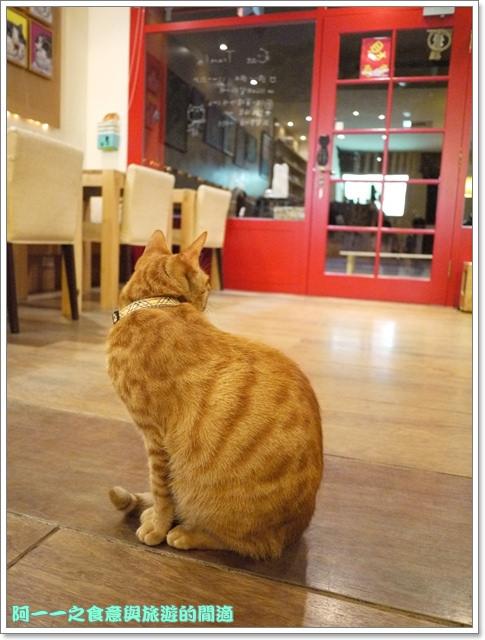 台中貓餐廳立體貓拉花貓旅行咖啡輕食館image041