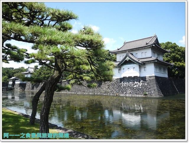 日本東京旅遊自助皇居外苑二重橋櫻田門和田倉噴水公園image036