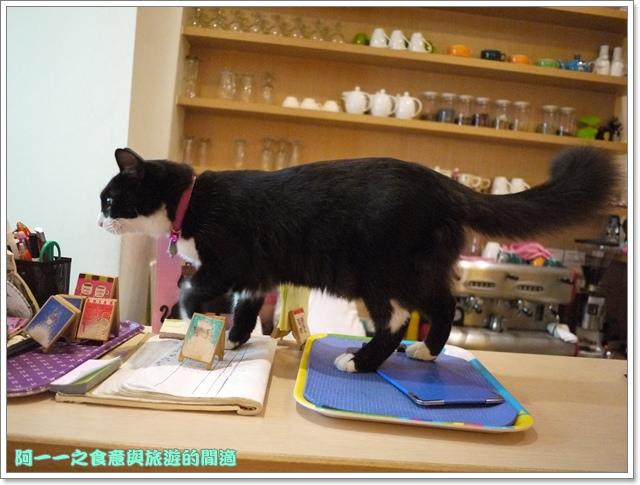 台中貓餐廳立體貓拉花貓旅行咖啡輕食館image035