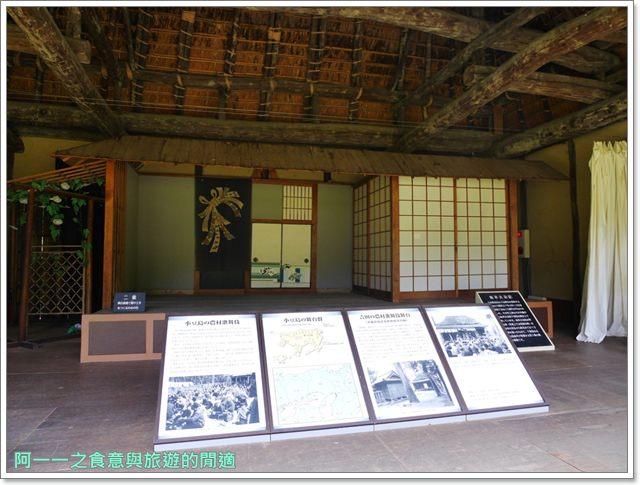 大阪親子景點.日本民家集落博物館.服步綠地.古蹟.老屋image053