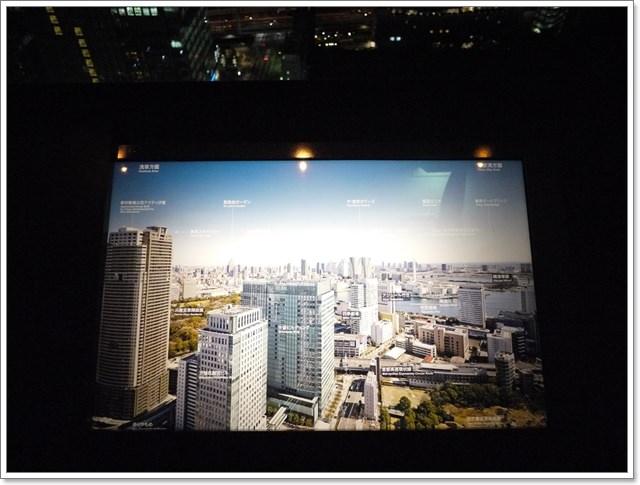 東京景點夜景世界貿易大樓40樓瞭望台seasidetop東京鐵塔image022