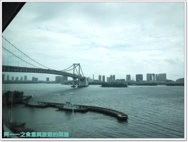 東京景點御台場海濱公園自由女神像彩虹橋水上巴士image007