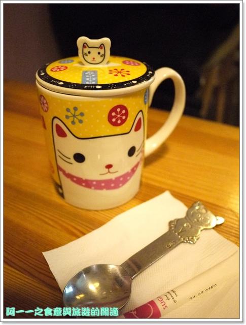 台中貓餐廳立體貓拉花貓旅行咖啡輕食館image045